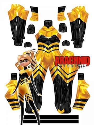 Custom Printed QUEEN BEE Zentai Costume