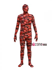 New Camouflage Spandex Lycra Zentai Suit