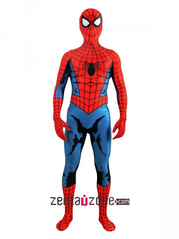 Classic Comic Romita Lycra Spiderman Zentai Costume [30443]