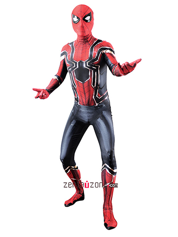 Custom Printed Iron Spider-MCU V2 Costume