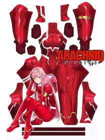 Custom Printed ZERO TWO - DARLING Zentai Costume