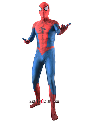 Custom Printed Merch Spider-man Civil War Proto