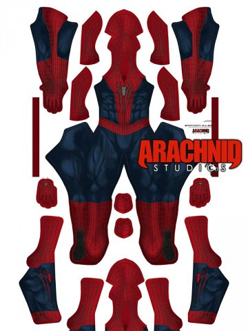 Custom Printed AMAZING SPIDER-MAN 2 Zentai Costume