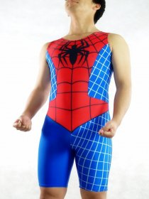 Lycra Spiderman Bicycle Leotard