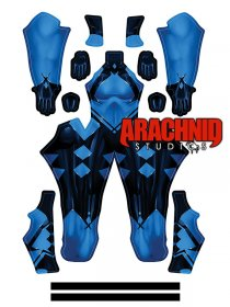 Custom Printed Klaxosaurs Princess Zentai Costume