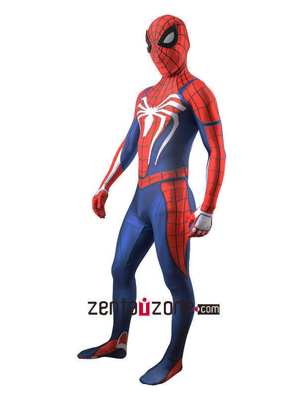 Insomniac Lycra Spandex Spiderman Zentai Costume - Click Image to Close