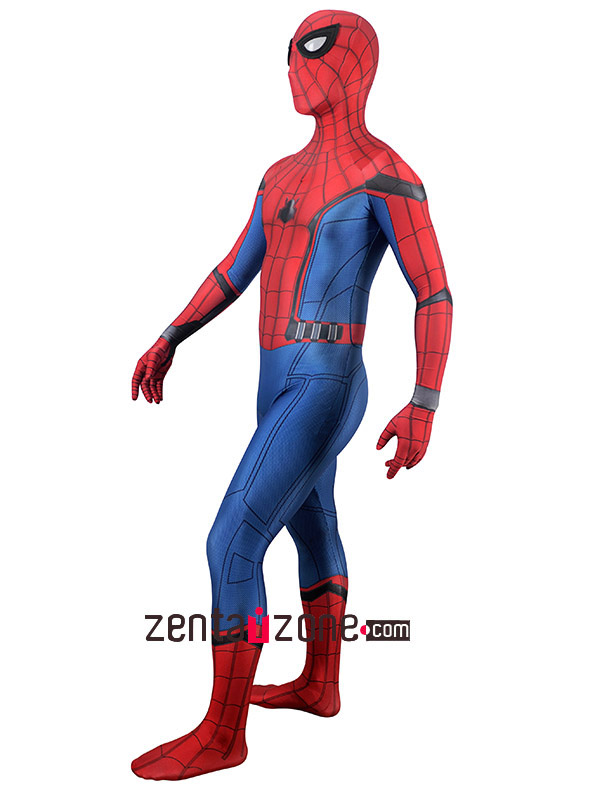 Homecoming Lycra Spiderman Zentai Costume - Click Image to Close