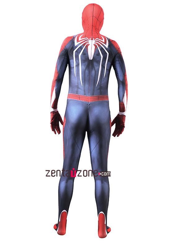Custom Printed PS4 Spiderman Zentai - Click Image to Close