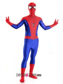 Spandex Lycra Ultimate Spiderman Zentai Costume