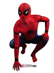 New Civil War Spiderman Spandex Zentai Costume