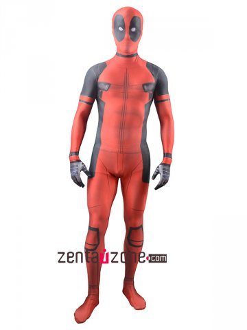 Movie Deadpool Spandex Lycra Zentai Costume [30451]