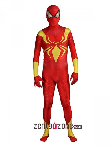 Custom Printed Spandex Iron Spider Suit