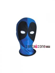 Blue And Black Deadpool Mask