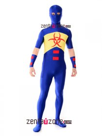Spandex Lycra Damage Superhero Zentai Costume