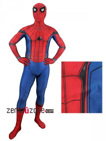 Homecoming Lycra Spiderman Zentai Costume [30499]
