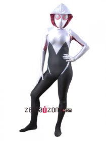 Gwen Stacy Spider Girl Lycra Zentai Costume