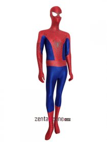 Super Cool Delux 3D Amazing Spiderman 2 Zentai Costume