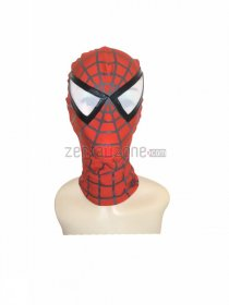 Spandex Lycra Classic Spiderman Mask