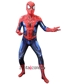 Custom Printed New Bagley's Ultimate Spiderman Costume