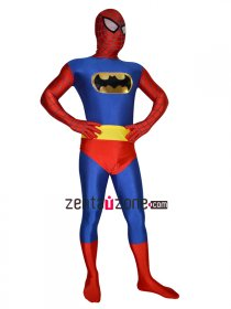 Spandex Lycra Zentai Costume For Spiderman And Batman