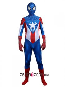 Custom Printed Captain Spider Man Costume