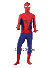 New 3-D Spandex Lycra Amazing Spiderman 2 Zentai Costume