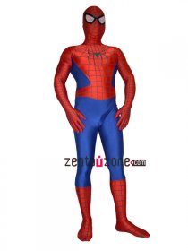 2013 Delux 3-D Red And Blue Spiderman Costume