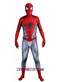 New Ultimate Spiderman Lycra Zentai Costume In Game