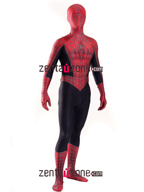 Custom Printed Raimi Spiderman 3 Costume