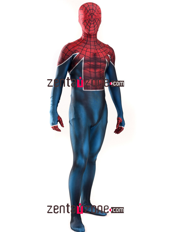 Custom Printed Spider-UK Spiderman Costume