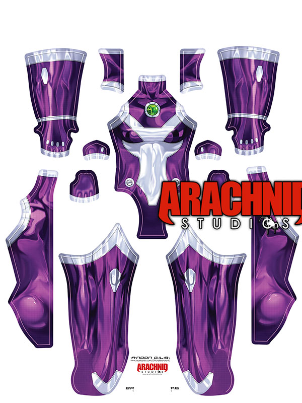 Custom Printed Starfire Zentai Costume - Click Image to Close